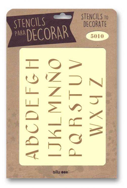 stencil letras silu 5010