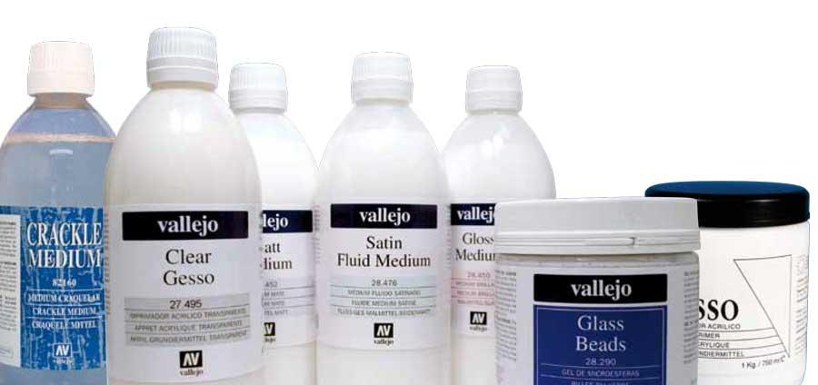 productos varios Acrilicos Vallejo