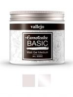 Gel medium brillo o mate Carrotcake de Vallejo