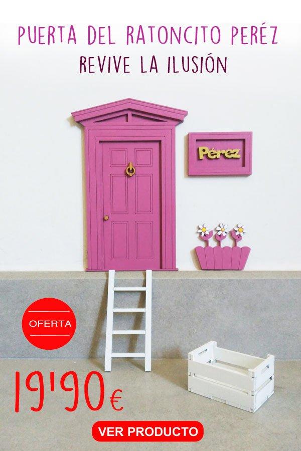 combina con tus letras una puerta del ratoncito perez de silu