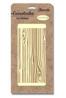 plantilla stencil carrotcake CK006 fondo madera de SILU