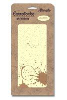 plantilla stencil carrotcake CK011 fondo manchado de SILU