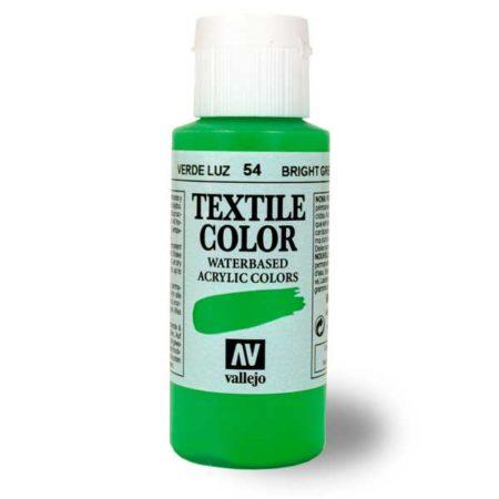 Pintura acrílica Textile Color 60ml. Vallejo, opaca y semiopaca
