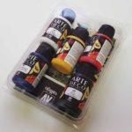 pack 6 botes pintura arte deco Vallejo en SILU