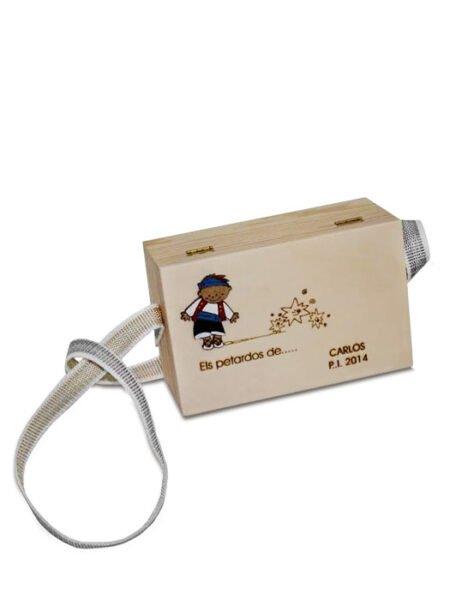 Caja para petardos