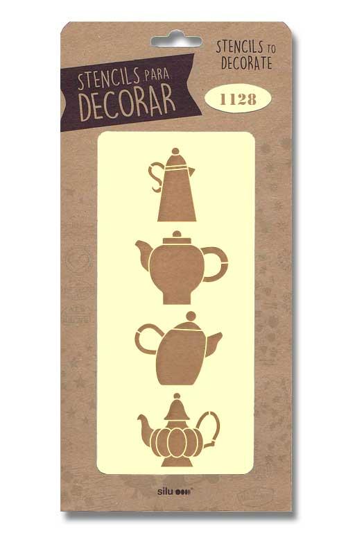 stencil articulos cocina silu 1128