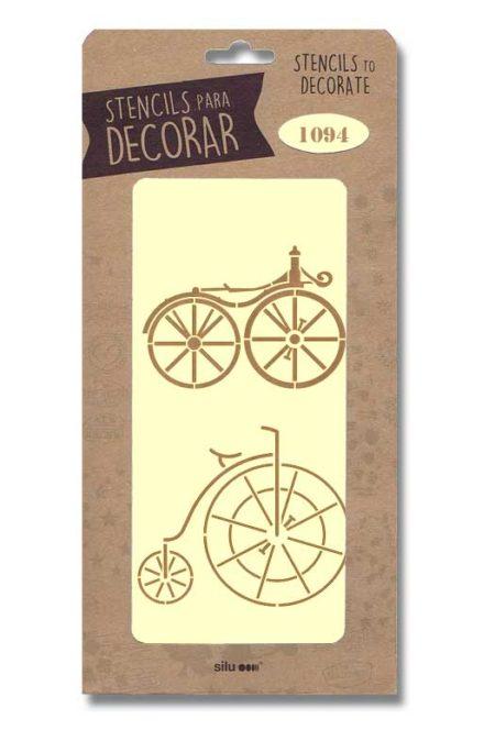 Stencil bicicletas 1094