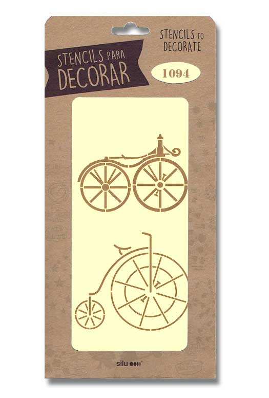 stencil bicicletas silu 1094