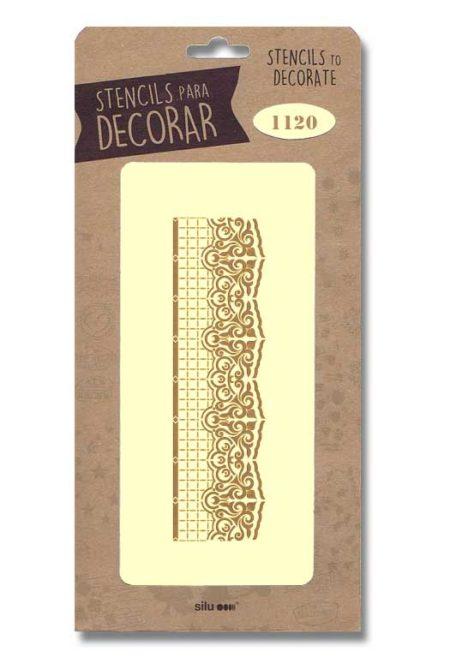 Stencil cenefa 1120