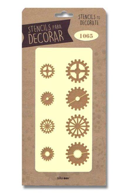 Stencil engranajes 1065
