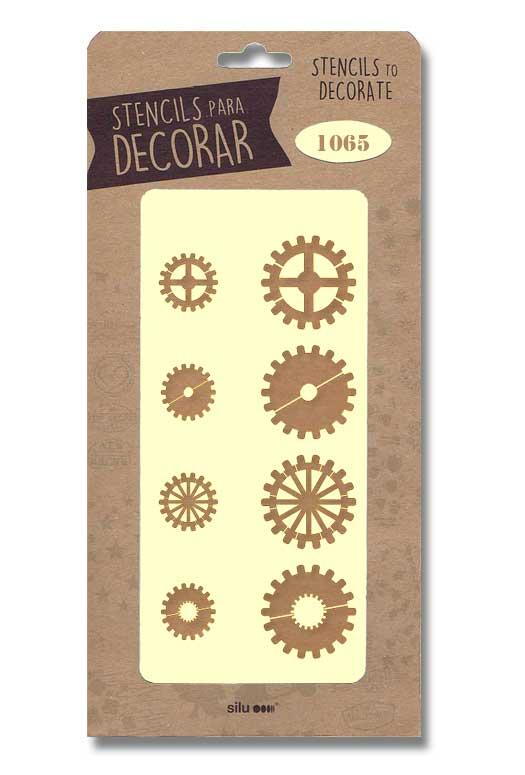 stencil engranajes silu 1065