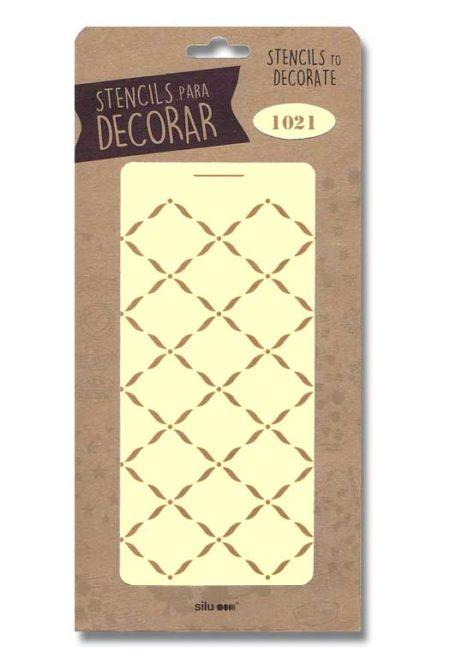 Stencil ornamental 1021
