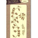 stencil hojas silu 1067