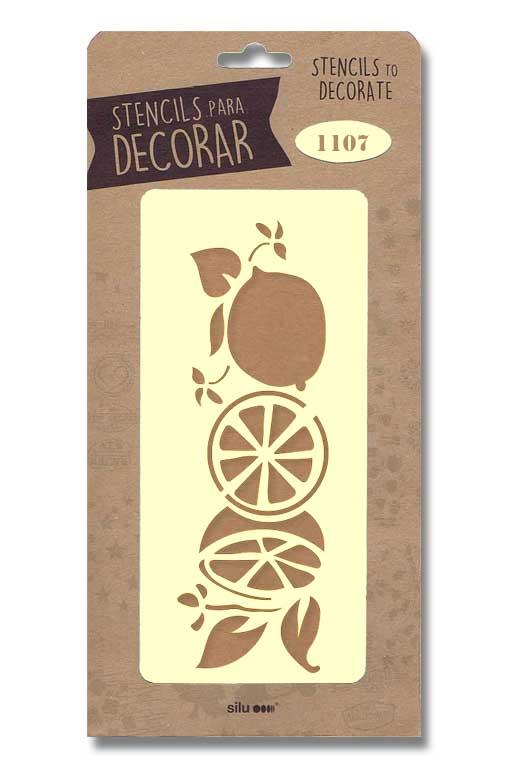 stencil limones silu 1107