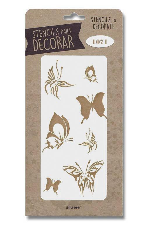 stencil mariposas silu 1071