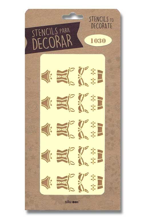 stencil moda interior silu 1030
