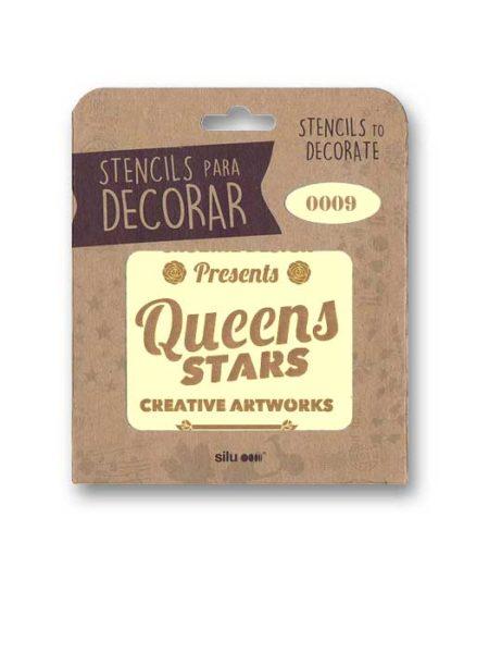 Stencil publi Queens Stars 0009
