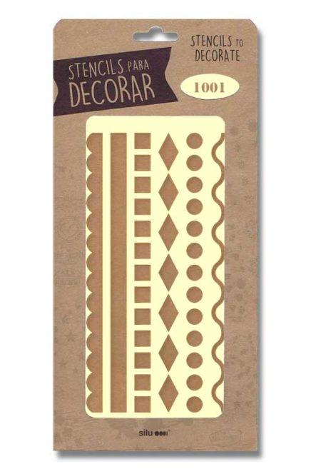 Stencil Cenefa Geométrica 1001