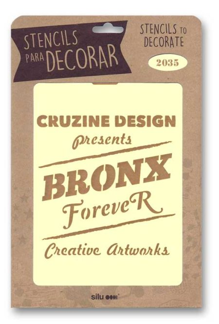 Stencil cartel Bronx Forever 2035