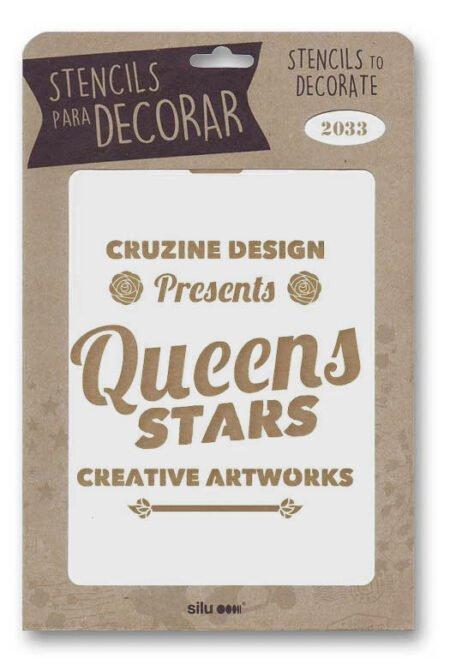 Stencil cartel Queens Stars 2033