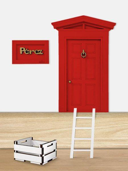 Puerta Ratoncito Pérez Roja