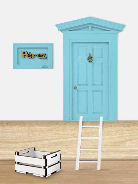 Puerta Ratoncito Pérez Azul