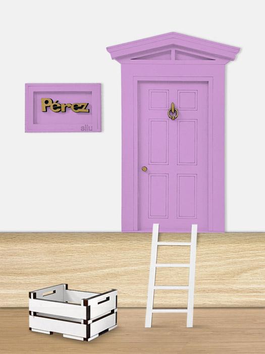 puerta ratoncito perez morada