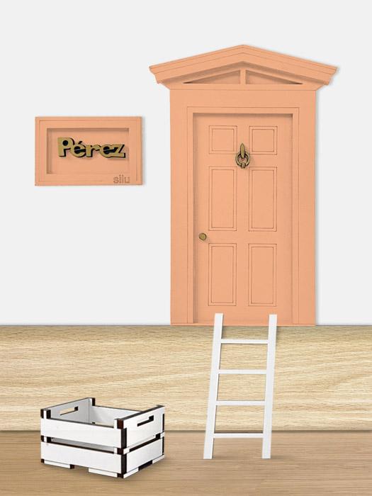 puerta ratoncito perez naranja