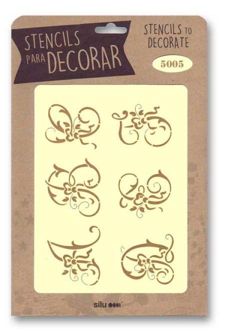 Stencil letras 5005