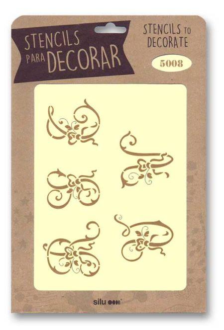 Stencil letras 5008