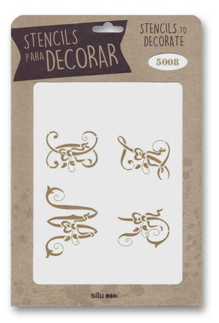 Stencil letras 5009