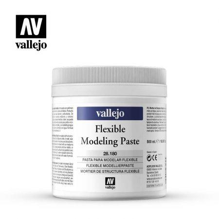 Pasta modelar flexible Vallejo