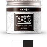 pasta de textura blanca o negra carrotcake de Vallejo