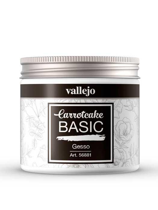 imprimación blanca Carrotcake GESSO de Vallejo