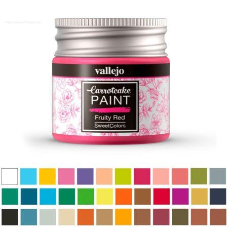Pintura acrílica Carrotcake PAINT de Vallejo