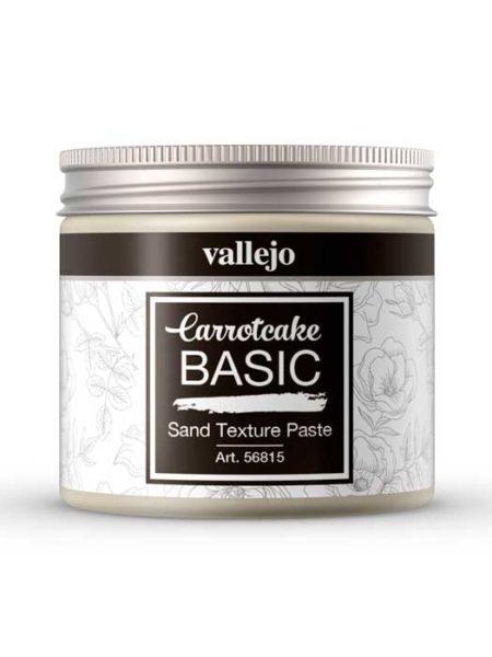 Pasta de textura granulada arena Carrotcake de Vallejo