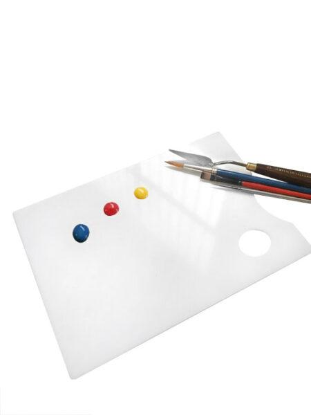 Paletas de Pintor Rectangular en Metacrilato