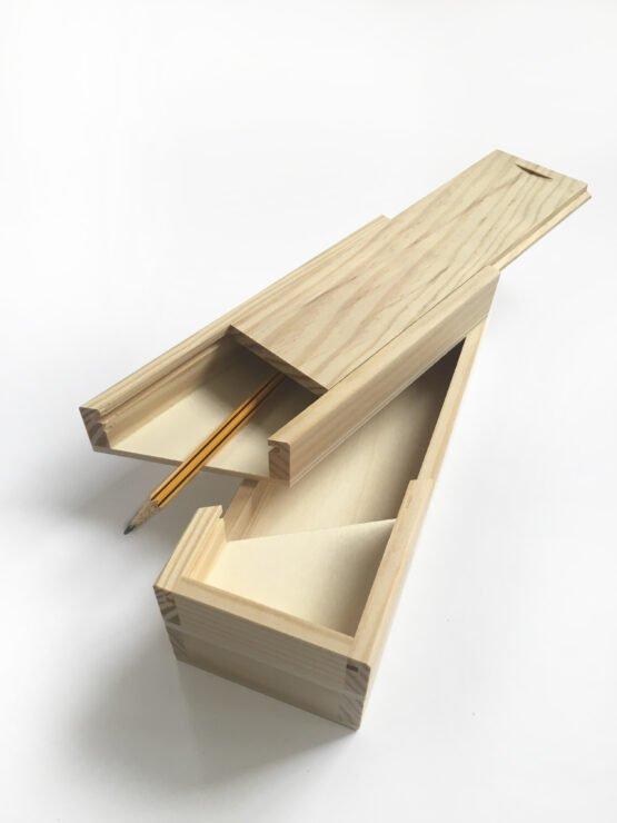 plumier de madera