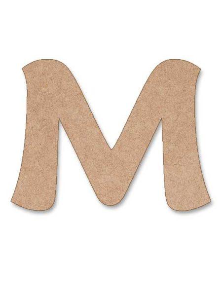 Letra de madera Maiandra