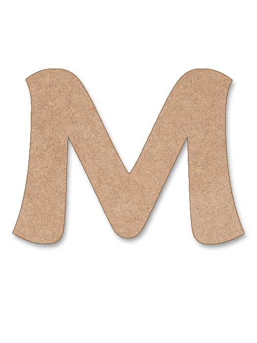 letra de madera maiandra en SILU