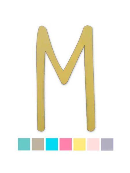 Letra de madera DKLemon Color