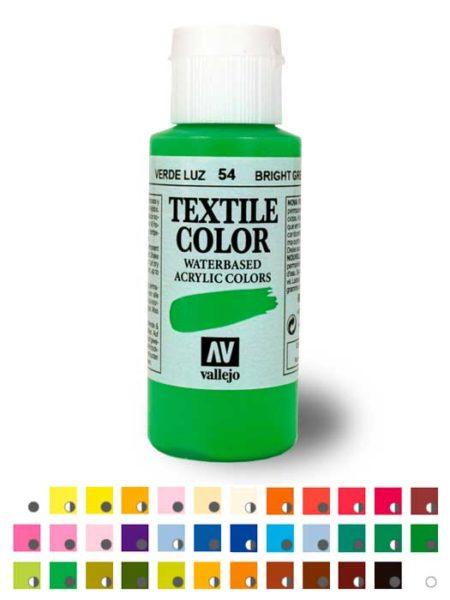 Pintura Textil Vallejo 60ml.
