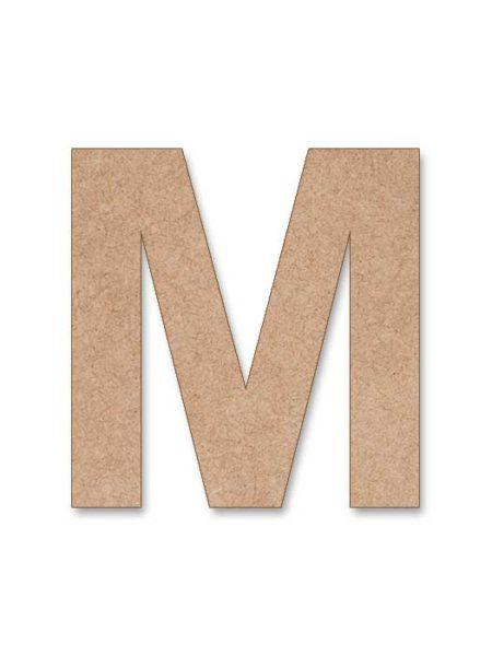 Letra de madera Arial