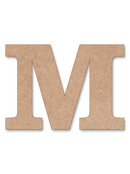 Letra de madera Clarendon