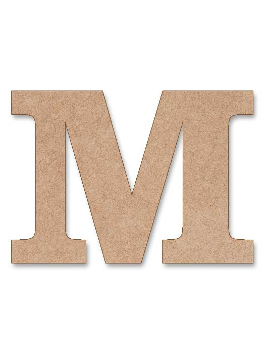 letra de madera clarendon en silu
