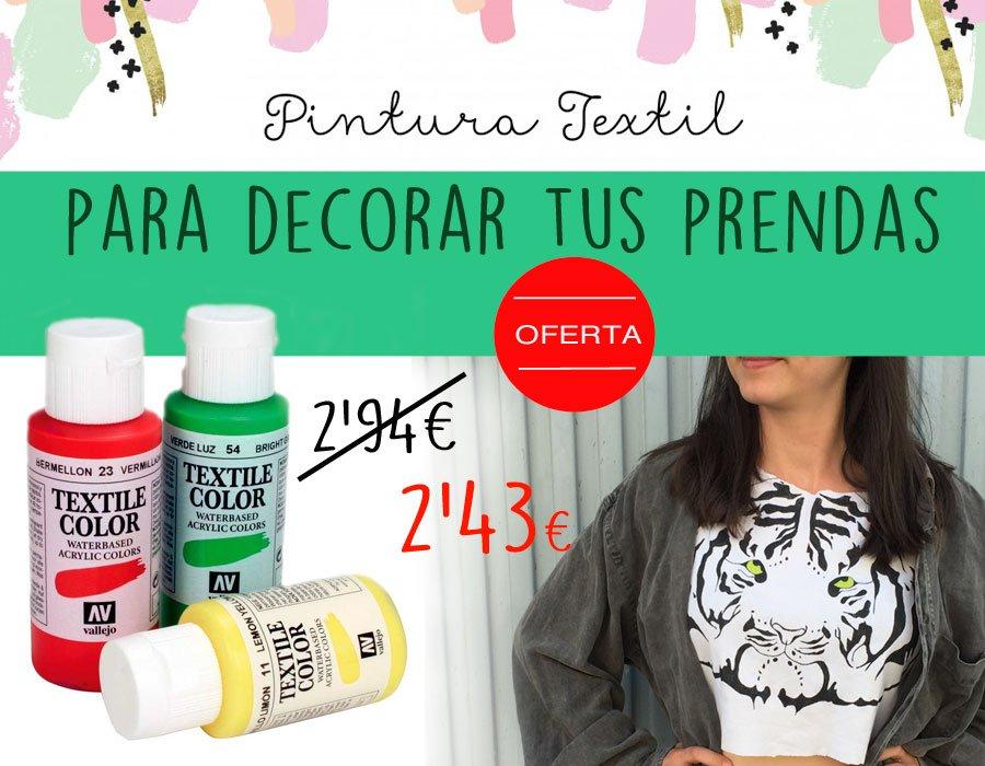 pintura textil para decorar tus prendas en silu