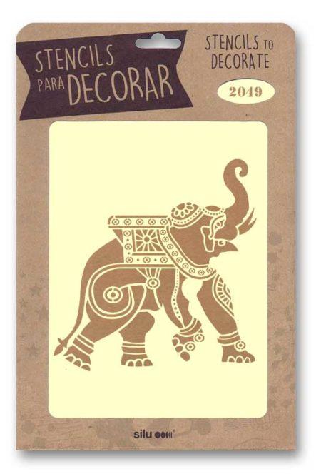Stencil mandala 2049