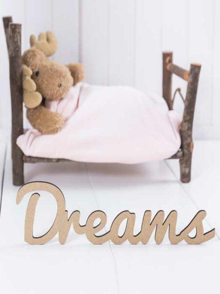 Palabra de madera DREAMS