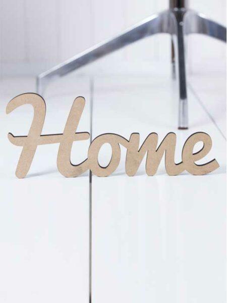 Palabra de madera HOME