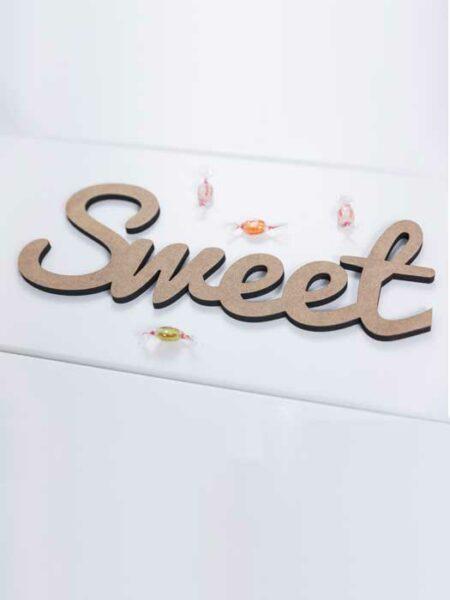 Palabra de madera SWEET